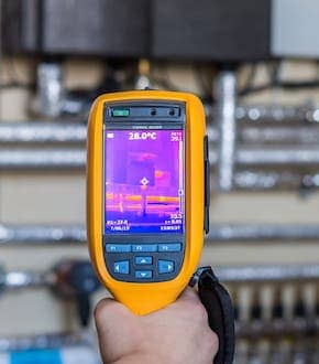 Thermal Laser Thermometer for Home Inspection Services